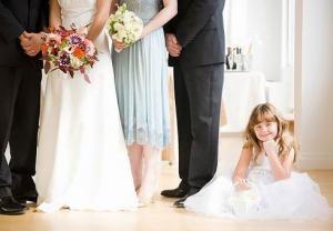 Свадьба с маленьким ребенком