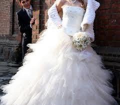 Наступила в лужу в свадебном платье