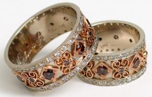 Винтажные помолвочные кольца