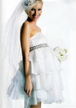Образ беременной невесты