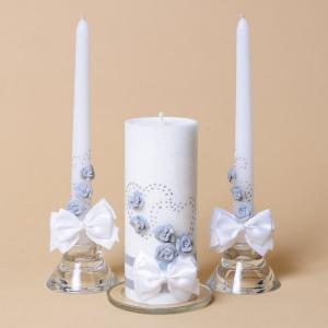 Украшения свадебных свечей