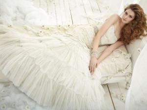 Свадебные платья в цвете фото