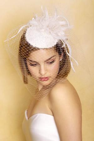 Обруч из лент для невесты