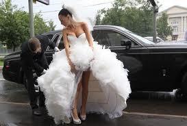Платья для зимней невесты