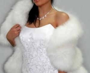 Выкройка свадебной накидки из гипюра