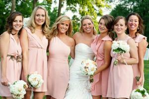 Цветовая гамма свадебной церемонии