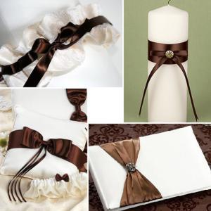Свадебные платья шоколад золото молочный