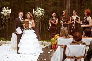 Шоколадные свадебные